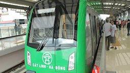 Tháng 4, khách đi tàu cao tốc Cát Linh – Hà Đông chưa mất phí