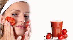 Cách làm đẹp da đơn giản mà hiệu quả bằng cà chua