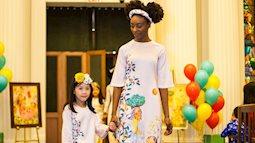 Áo dài Ngọc Hân gây xúc động về văn hoá Việt cho kiều bào ở Mỹ