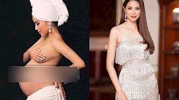 Lộ ảnh Hoa hậu Phạm Hương bụng bầu vượt mặt mà vẫn sang chảnh hết nấc?