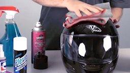 """Mách bạn cách vệ sinh mũ bảo hiểm """"chuẩn"""" nhất"""