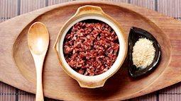 Cách nấu cơm gạo lứt bằng nồi cơm điện rất đơn giản và ngon tuyệt cú mèo