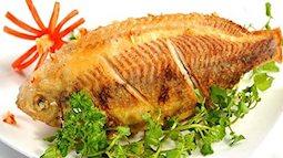 Mẹo chiên cá giòn rụm mà không bị dính chảo
