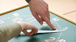 Rèn luyện cho con kỹ năng quản lý thời gian