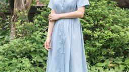 Tung tăng dạo phố với 10 mẫu váy đơn sắc phong cách Hàn trẻ trung, đẹp ngất ngây