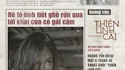 Hoàng Yến Chibi và Thanh Tú đầy ám ảnh trên loạt poster phim ''Thiên Linh Cái''