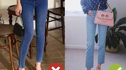 Nếu không muốn trở thành thảm họa, đừng diện quần jeans và mix 3 kiểu giày dép này nhé!
