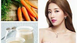 Học ngay cách làm 5 loại mặt nạ mùa hè từ cà rốt