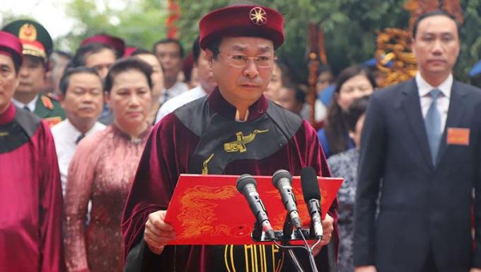 Ông Bùi Văn Quang - Phó Bí thư Thường trực Tỉnh ủy, Chủ tịch UBND tỉnh Phú Thọ.