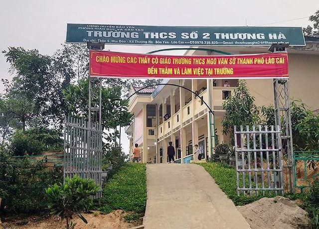 Trường học nơi xảy ra sự việc (Ảnh: Tiền phong)