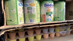 Sữa bột Gallia được nhập lậu, vận chuyển trái phép về Việt Nam