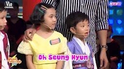 Chết cười với phần thi của cậu bé Hàn Quốc trong Nhanh như chớp Nhí 2
