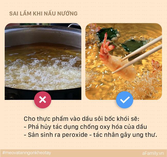 5 sai lầm mẹ dễ mắc khi nấu ăn khiến cả nhà bị ung thư, đến lúc biết thì e đã muộn - Ảnh 2.