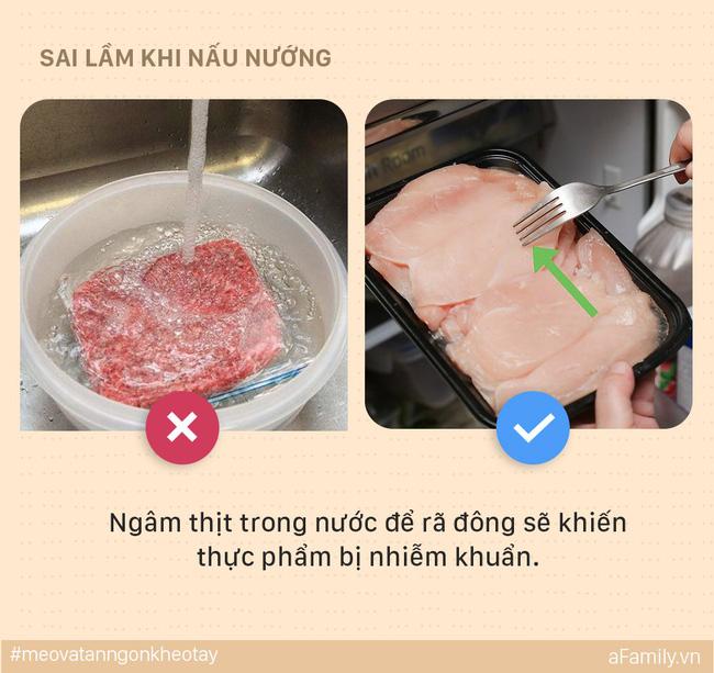 5 sai lầm mẹ dễ mắc khi nấu ăn khiến cả nhà bị ung thư, đến lúc biết thì e đã muộn - Ảnh 5.