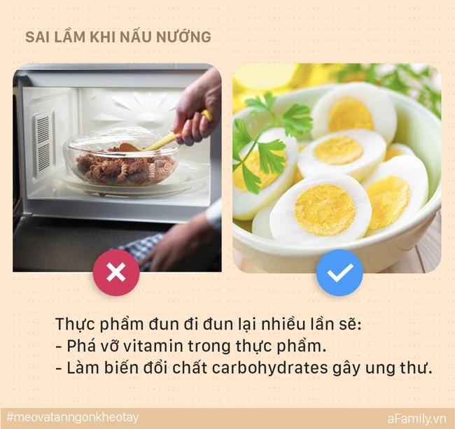 5 sai lầm mẹ dễ mắc khi nấu ăn khiến cả nhà bị ung thư, đến lúc biết thì e đã muộn - Ảnh 4.