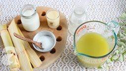 Mùa hè năm nay, món nước mía này chắc chắn sẽ 'lên ngôi' - bạn đã thử?