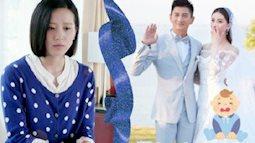 Sinh con được 2 tuần, Lưu Thi Thi mắc chứng trầm cảm sau sinh, khóc lóc không ngừng?