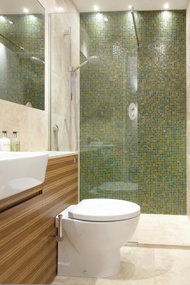 Gợi ý các thiết kế bồn cầu ăn gian diện tích cho những người sở hữu một căn phòng tắm chật hẹp - Ảnh 8.