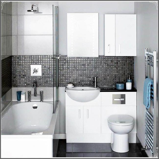Gợi ý các thiết kế bồn cầu ăn gian diện tích cho những người sở hữu một căn phòng tắm chật hẹp - Ảnh 11.