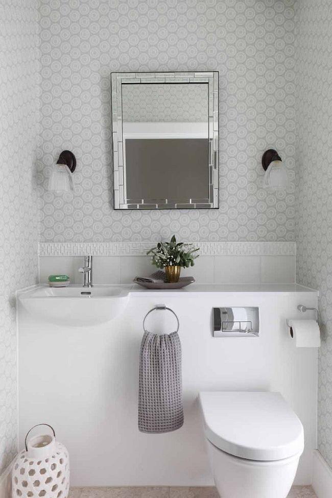 Gợi ý các thiết kế bồn cầu ăn gian diện tích cho những người sở hữu một căn phòng tắm chật hẹp - Ảnh 13.