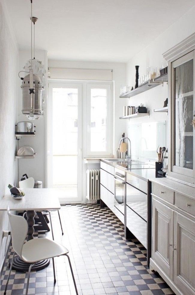 9 phòng bếp nhỏ xíu nhưng nhìn là mê, rất đáng tham khảo cho nhà chật - Ảnh 2.