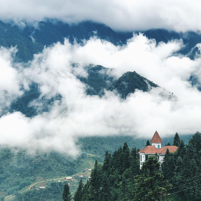 4 quán cafe cực hot ở Sapa sẽ cho bạn lạc vào nét đẹp hùng vĩ nơi núi rừng Tây Bắc - Ảnh 7.
