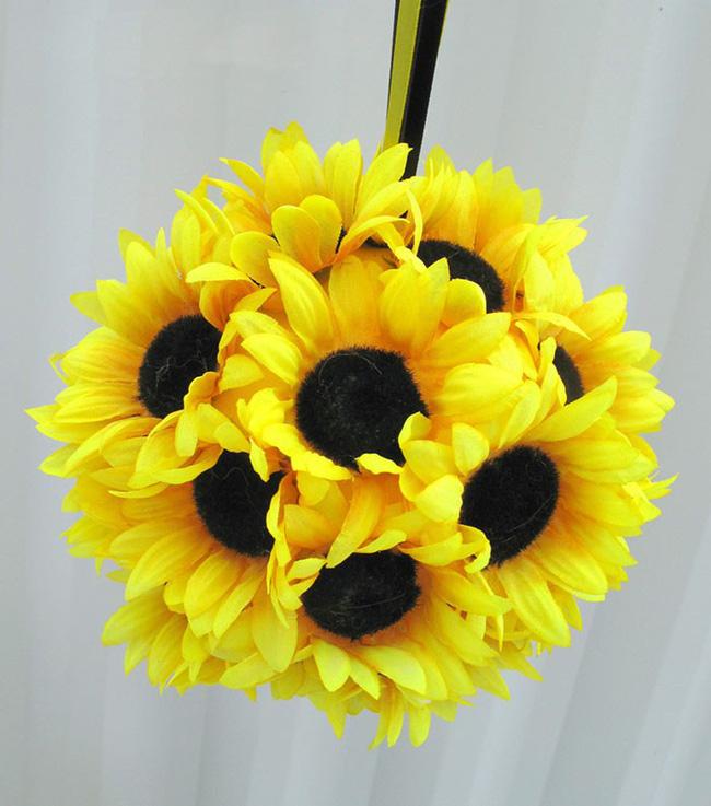 Hoa hướng dương - sắc màu tươi vui, hạnh phúc cho tiệc cưới của bạn - Ảnh 10.