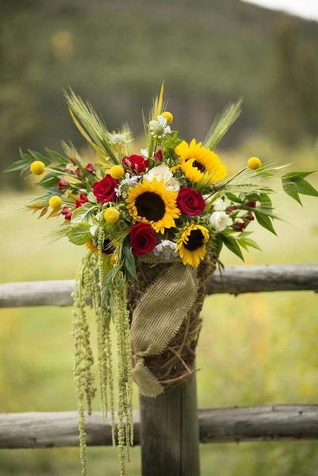Hoa hướng dương - sắc màu tươi vui, hạnh phúc cho tiệc cưới của bạn - Ảnh 14.