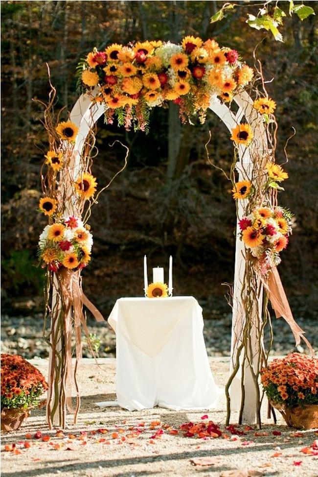 Hoa hướng dương - sắc màu tươi vui, hạnh phúc cho tiệc cưới của bạn - Ảnh 2.