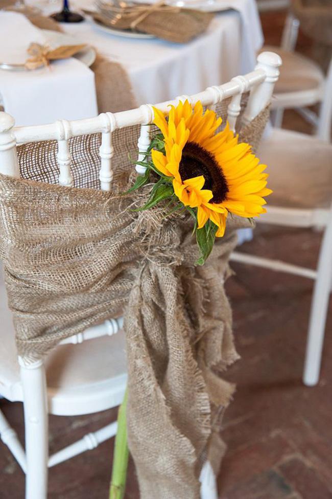 Hoa hướng dương - sắc màu tươi vui, hạnh phúc cho tiệc cưới của bạn - Ảnh 6.