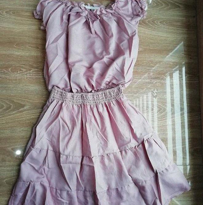 Chỉ vì 1 phút yếu lòng, cô gái khóc ròng khi ôm về chiếc váy đã bị rách lại còn chẳng liên quan hình mẫu - Ảnh 2.