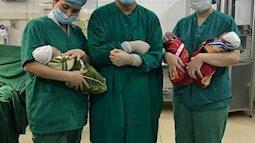 Bà mẹ Tuyên Quang sinh 3 bé trai cùng trứng hiếm gặp, trên thế giới khoảng 200 triệu ca mới có 1 ca