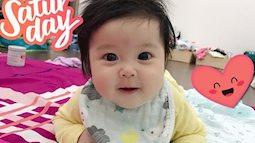 Cuối tuần của các hot mom: Hằng Túi 'say đắm' với nụ cười của bé Sam, bà xã Bình Minh đẹp xuất sắc trên biển Hạ Long
