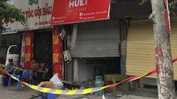 Hà Nội: Nhiều cửa sổ nhà hàng bắn tung tóe sau tiếng nổ lớn lúc nửa đêm