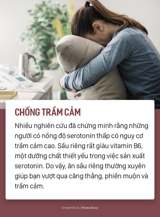 Tuy có hơi nặng mùi nhưng ăn sầu riêng sẽ mang đến rất nhiều lợi ích cho sức khoẻ  - Ảnh 3.