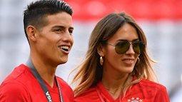 """Bỏ siêu mẫu do Ronaldo giới thiệu, James Rodriguez công khai tình mới """"bốc lửa"""""""