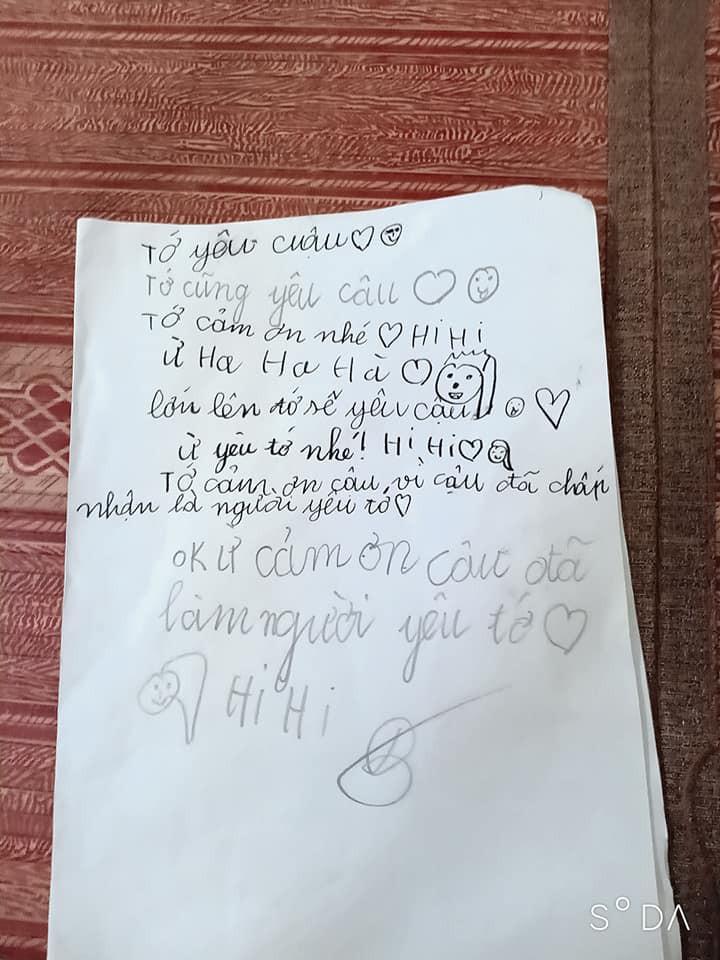 Cậu bé lớp 2 viết thư tay tỏ tình với bạn gái, nhưng cái kết khét lẹt lại khiến dân mạng cười bò - Ảnh 3.
