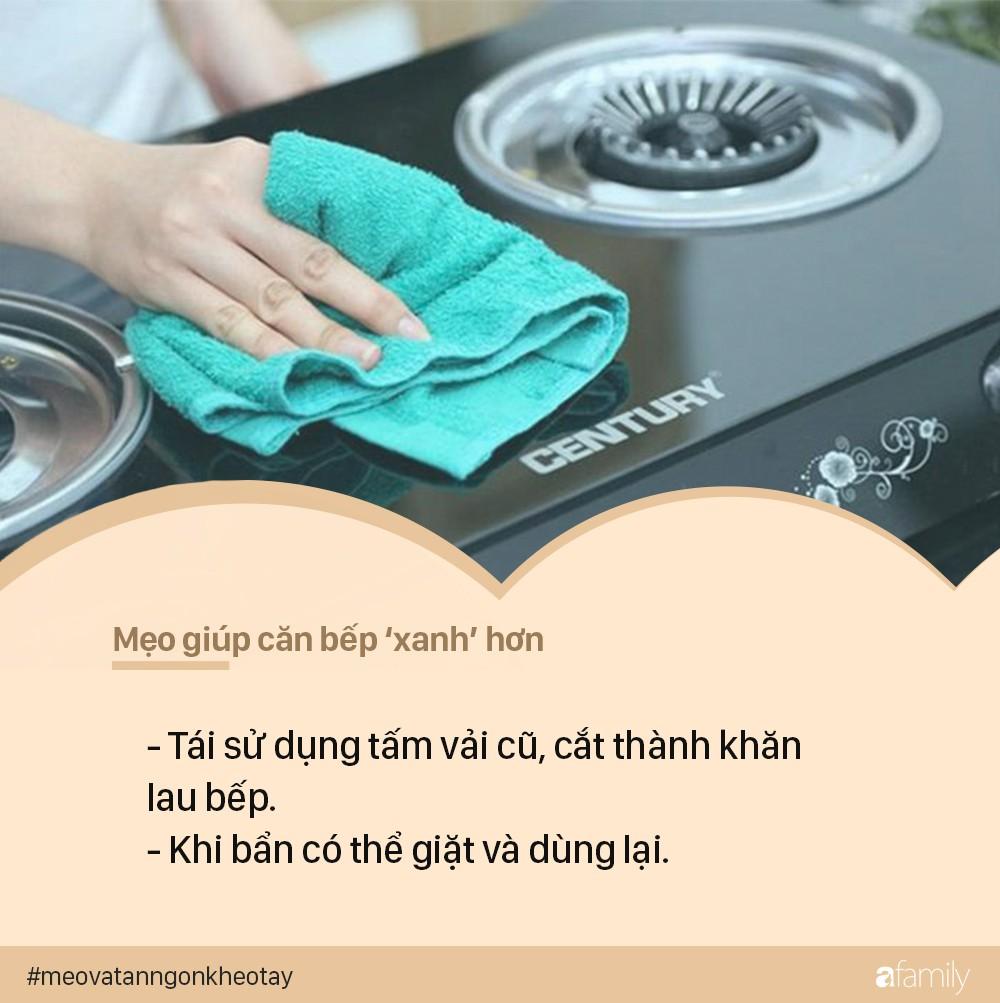 Mẹo vặt giúp nhà bếp