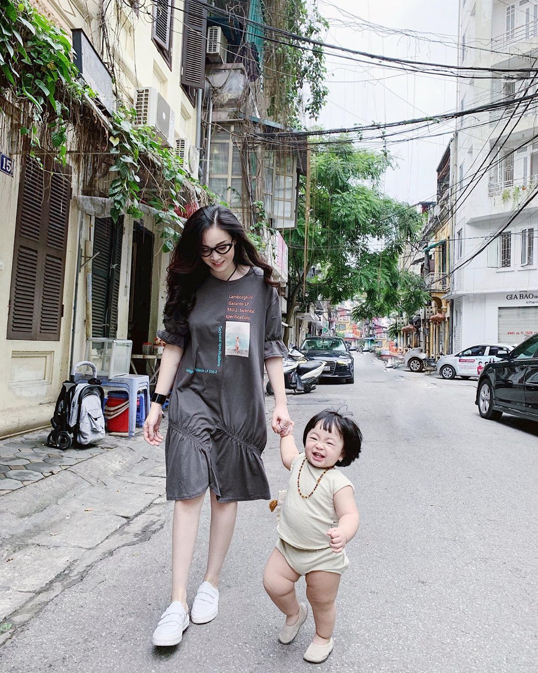 street style hot mom - Ảnh 7.