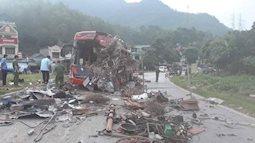 Chiếc xe tải biển Lào không có dữ liệu tốc độ, 3 nạn nhân rơi vào tình trạng nguy kịch sau vụ tai nạn thảm khốc khiến 41 người thương vong