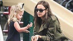 Chia tay một mình nuôi con nhỏ cũng phải cực sành điệu và rạng rỡ như cách Irina Shayk sang chảnh đưa con gái ra phố thế này