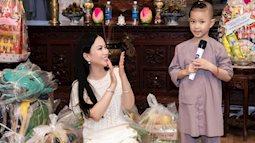 Hai con gái của ca sĩ tỷ phú Hà Phương về Việt Nam làm từ thiện cùng mẹ