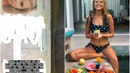 Cựu Hoa hậu Hoàn vũ Úc bị từ chối lên máy bay ở Bali chỉ vì… 1 vết nước ở góc phải hộ chiếu?