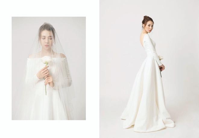 Không hổ danh Hoa khôi, Đàm Thu Trang tung ảnh cưới đơn giản nhưng vẫn xinh đẹp yêu kiều hết phần thiên hạ - Ảnh 2.