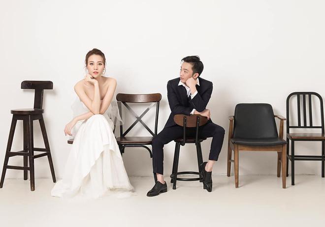 Không hổ danh Hoa khôi, Đàm Thu Trang tung ảnh cưới đơn giản nhưng vẫn xinh đẹp yêu kiều hết phần thiên hạ - Ảnh 3.