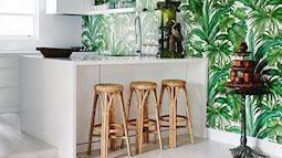Vô vàn ý tưởng trang trí nhà bếp nhiệt đới truyền cảm hứng cho những ai thích mùa hè sôi động