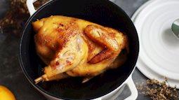 Cả nhà phản đối khi tôi dùng nồi cơm điện nướng gà, nhưng khi ăn thì khen ngon nức nở!