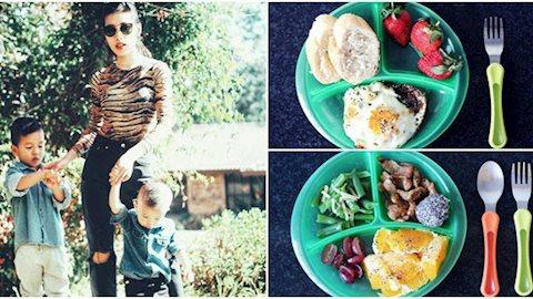 Tròn mắt với thực đơn ăn dặm mẹ Việt ở Úc làm cho 2 con trai, người lớn nhìn vào cũng phải 'thòm thèm'