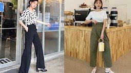 """Mặc quần ống rộng cũng phải có chiến thuật: 4 tips giúp chị em kéo chân dài miên man, """"hack"""" chiều cao triệt để"""