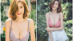 Cận cảnh gái xinh có khuôn ngực đẹp nhất nhì châu Á, nam hay nữ cũng đều mê mệt